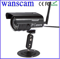 Wholesale New Arrival Hot JW0011 Wanscam Webcam Mini Bullet IP Camera Security CCTV Outdoor Security IR Night Vision amp Wifi Wireless