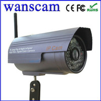 Wholesale New Arrival Hot JW0006 Wanscam Webcam Mini Bullet IP Camera Security CCTV Outdoor Security IR Night Vision amp Wifi Wireless