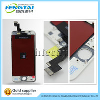 Wholesale Free EMS to RU For iphone S LCD Display With Touch Screen Frame Digitizer Assembly Replacement Repair Parts