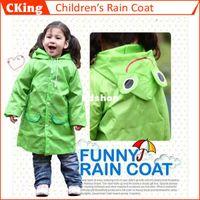 Wholesale Rain Coat children Raincoat Rainwear Rainsuit Kids Waterproof Raincoat poncho