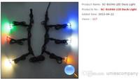 Wholesale set LED floor lights decorative light LED deck lights SC B104 pc driver IP67 RGB single color factory sale