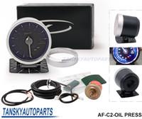 Wholesale Tansky DF Link Meter ADVANCE C2 Oil Pressure Gauge Blue Universal Have in stock TK C2 OIL PRESS