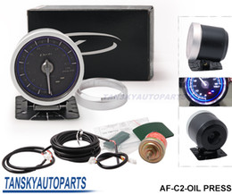 Wholesale Tansky DF Link Meter ADVANCE C2 Oil Pressure Gauge Blue Universal Have in stock TK C2 OIL PRESS