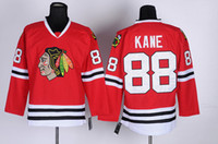 Wholesale Patrick Kane Red Hockey Jerseys High Quality Hockey Apparel New Cheap Hockey Jersey Brand Sports Jerseys in stock for New Season