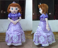 Cheap mb007 wholesale mascot adult princess sofia costume