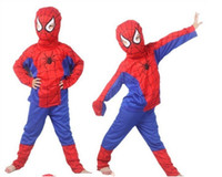 Wholesale Halloween costume Spider man superman Batman Zorro Halloween costume cosplay clothes kids suit Performance costume