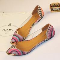 ballerina flats - Summer Women Flats Shoes New Shoes Woman Brand Fashion Casual Sapatos Femininos Ballet Ballerina Ballet Flat Sandals