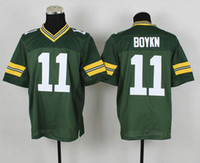 Wholesale Green Packer Jarr ett Boykin Jerseys Authentic Elite Football Jersey Season American Football Team New Jersey Best Sports Shirts