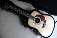 Wholesale Classical Acoustic Dreadnought Guitar model Solid spruce top acoustic guitar Factory Direct Sale121209
