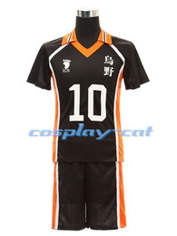 Wholesale Haikyuu Anime Haikyuu Karasuno High School hinata syouyou kageyama tobio Cosplay Jersey Pants