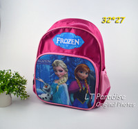 Wholesale Frozen Princess Elsa amp Anna Printing Kids Backpack Children Cartoon Bag for Kindgarten Student Little Girls Backpacks Kids Bag