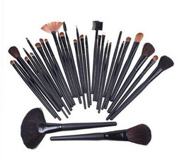 Wholesale 32 Makeup Brushes Set Cosmetic Make up Brushes Cosmetic Brush Kit Beauty Tools With Bag