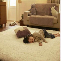 100% Silk Shaggy Bedroom 50*80cm free shipping Custom-made winter Carpet warm mat Washable bedroom carpet 8 color Japanese style Rug