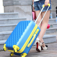 Wholesale 2013 newest designed ABS travel luggage traveliing luggage girls travel luggage Best travel case Top new items