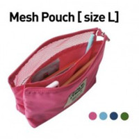 Wholesale Hot Selling Multifunctional Travel Wash Bag Cosmetic Bag Fashion Women Day Clutch Mesh Pouch
