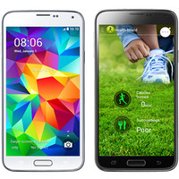 Wholesale 1 S5 SV GT I9600 quot MTK6572 Dual Core Android USB Quad Band Health Care Air Gesture Camera G Unlocked Smart Mobile Cell Phone