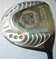 Wholesale Golf Clubs VOLTIO II Golf Driver Club golden color quot or quot Loft With driver covers graphite shaft