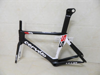 Cheap Cervelo S5 Bike carbon frame VWD aero Cervelo carbon frame road Bicycle Carbon frame+fork+seatpost+clamp+headset sizes 48 52 54 56 58cm