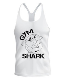 Wholesale Latest shirt designs for men GymShark Fit Stringer cotton fabric stringer tank top hottest and newest cheap price GOLDS gym singlets