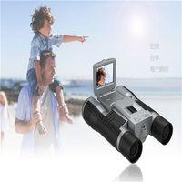 Wholesale 2 inch Multi Functions P HD Video Camera Telescope Long Distance Digital Spy Binocular Camera Telescope with Camera FS608