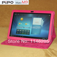 Cheap Pipo M9 M9 Pro tablet cases pu leather case for m9 m9 pro 3g tablet case leather covers&cases multi-colors Free shipment