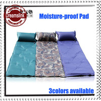 Wholesale New Arrival Outdoor Camp Moisture proof Pad Sleep Mattress Automatic Inflatable Cushion Air Bed Mats CM