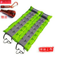 Wholesale Broadened thick cm camping hiking mat tent automatic inflatable cushion single moisture proof pad can be spliced