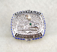 Wholesale Championship Rings Seahawks championship rings18k Gold Ring Silver Men s luxury fans collectibles