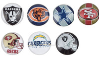 cabochons - Hot Sell Assorted American Football Team Glass Cabochons Flatback Soccer Glass Cabochons World Cup Football Sports Souvenir
