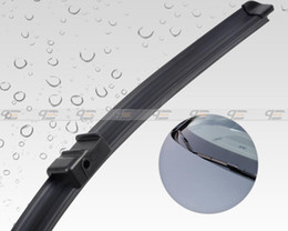 Wholesale amp Tracking quot quot Frameless Steel Rubber Rain Window Windshield Wiper Blade for AUDI A5 Q5 CA00985