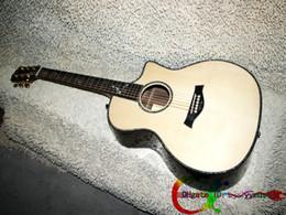 Wholesale Acoustic Electric Guitar CE Guitar Mother of Pearl Inlay Binding Custom CE Koa Series Electric Acoustic Electric