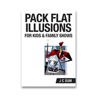 Wholesale J C Sum Pack Flat Illusions for Kids and Family Shows no gimmicks magic trick fast delivery paypal accept