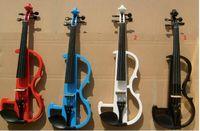 Wholesale Handmade white electric violin electric violin