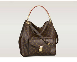 Wholesale New Luxury Brand Collection Women s Handbags Classical Vintage PU Leather Embossed Shoulder Bags high quality TOTE BAGS