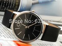 Wholesale The new top men brands luxury fashion men leather strap quartz watch military watches women dress watches