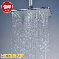 Cheap Bathroom Shower Heads  Bathroom Shower Sets  bathroom shower heads  Air pressurized water-saving shower head top spray overhead shower recta