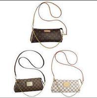 Wholesale N55213 brown womens eva clutch bag handbags feree shipping x13x4