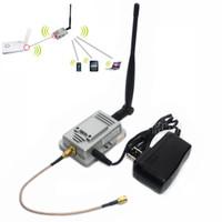 Wholesale 2 GH W WiFi Wireless LAN Amplifiers Router Power Range Signal Booster Antenna WEA05G H28