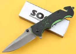 SOG FA05 Folding blade knife 3Cr13Mov blade Fine edge tactical knife rescue knife survival knives New in Original box