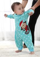 Boy Spring / Autumn Short Baby baby newborn children's wear cotton clothes fit men and women aged 0-1 spring summer pajamas ha.