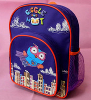 Wholesale HOTSale Cartoon Animal Backpack Cute OWL Blue Color School Backpack Rucksack Knapsack Packsack Bag Gift