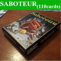 Wholesale saboteur SABOTEUR TABLE GAME desktop board game cards playing card English multiple language rules top sale free ship