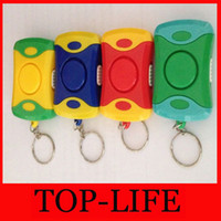 Wholesale LIGHT personal alarm personal alarm anti wolf snatches anti lost alarm device with package and battery