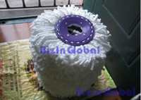 Cheap free shipping.360 Clean Microfiber Magic Mop Spin Mop Easy Refill Mophead House 300pcs lot