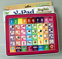 educational toys for children - YPad English touch screen educational toys for children kids laptop computer learning machine Kid Funny educational toy Toys Ypad colours