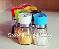 peppercorns - Glass Pepper Peppercorn Rock Salt Herb Spice Hand Grinder Mill With SGS Certification Good Quality