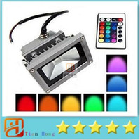 Super Bright Waterproof 10W Outdoor Led Flood Lights RGB Flo...