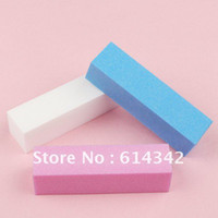 Wholesale way colorful magic nail polishing buffer block for buffing and sanding file manicure nail tool Wholesales