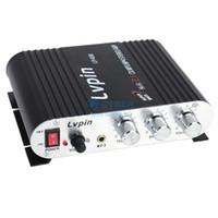 Wholesale MINI Hi Fi Audio Stereo Amplifier Car Motorcycle Speaker W V