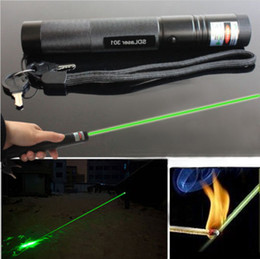 Wholesale The best sales nm nm nm high power green red purple laser pointers can focus burn match pop balloon camping signal lamp HuntSOS